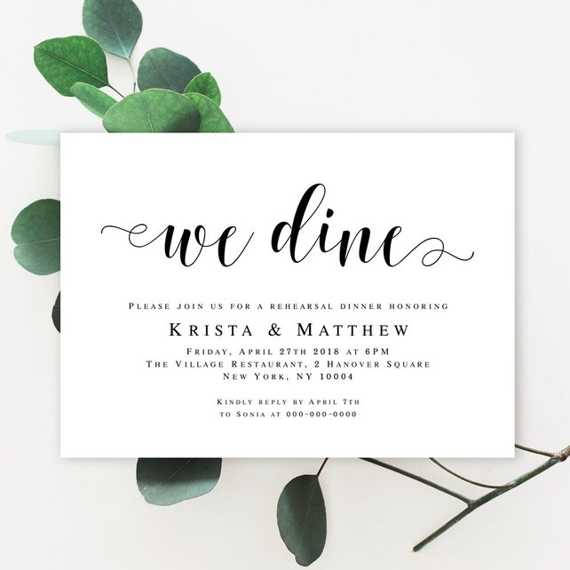 Wedding Rehearsal Invitation Template Download Rehearsal Party