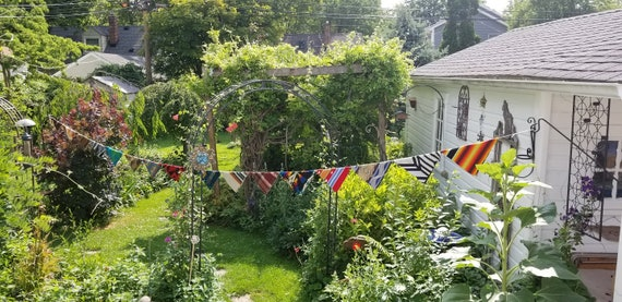 Large Prayer Flag Triangle Buntings