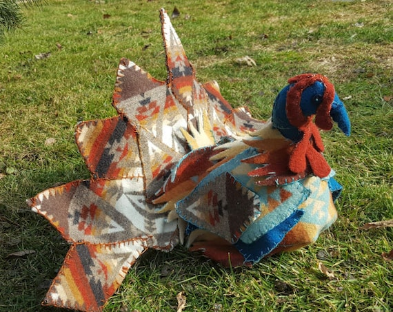 Turkey Fabric Sculpture