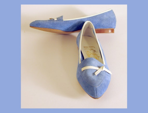 Blue Suede Shoes for Girls