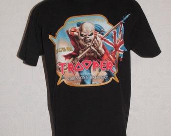 ea89738cf Iron Maiden The Trooper Beer T-shirt