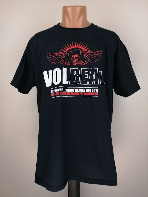 Volbeat beyond hell above heaven promo tour t-shir