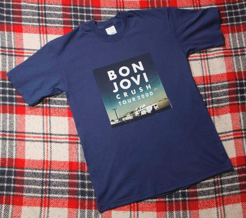 666cd132 2000 Vintage Bon Jovi Crush tour t-shirt | Etsy