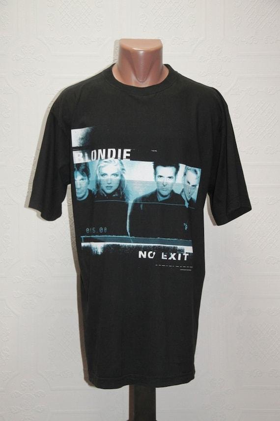 90' vintage Blondie No Exit t-shirt