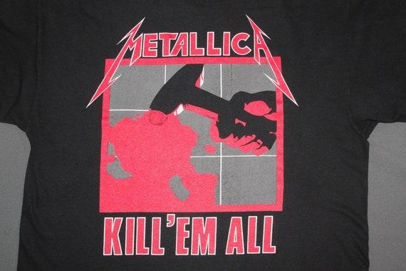80' vintage Ride Metallica Ride vintage le lightning T-shirt 6e1570
