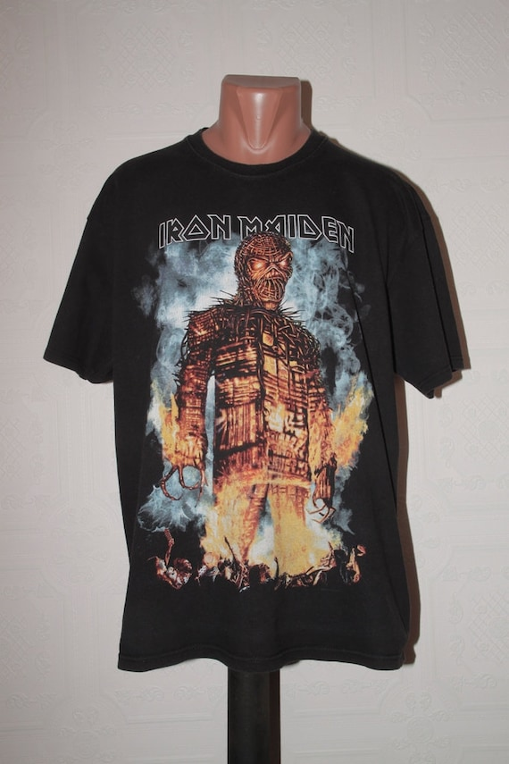 c758b146 Iron Maiden The Final Frontier World Tour 2010 promo t-shirt   Etsy
