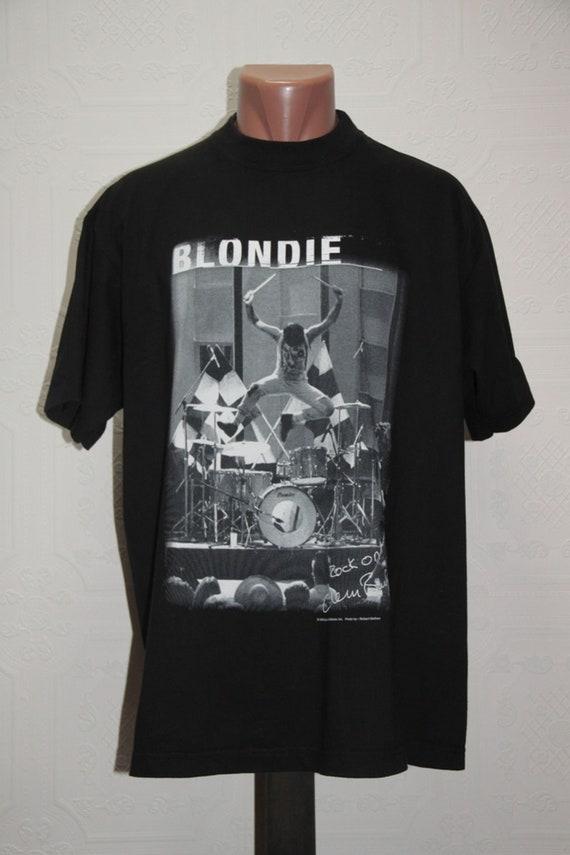 90' vintage Blondie No Exit promo tour t-shirt
