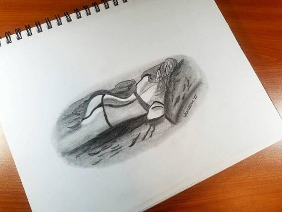 Seksowna dziewczyna nagi obraz