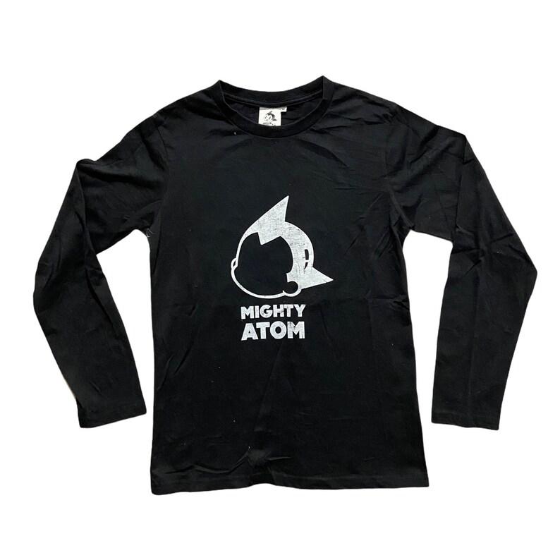 Atom Astroboy by Osamu Tezuka long-sleeve Tee Black