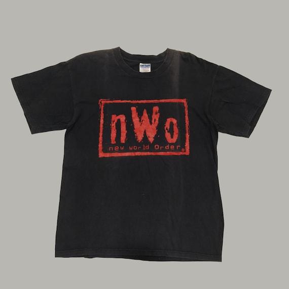 Vintage 90s WWF NWO New World Order Shirt Hulk Hog