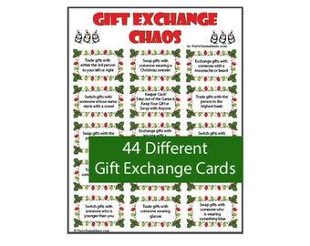 Christmas Gift Exchange Themes.Gift Exchange Idea Etsy