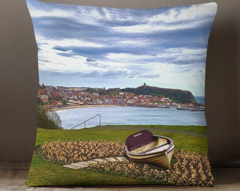 York Station 40cm Soft Knit Scatter Cushion Sofa Bedroom Office