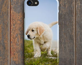 Golden Retriever Puppy Phone Case - PC029   Personalised Gift   Unique Gift   Phone Case   iPhone   Samsung