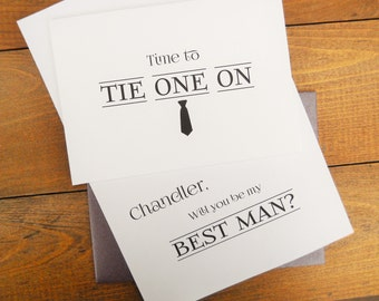 Funny Will You Be My BEST MAN Card, Will You Be My Best Man, Best Man Invitation, Best Man Proposal, Best Man Gift, Best Man Card
