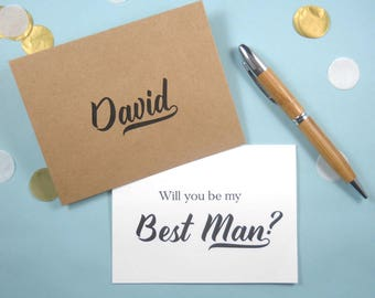Will You Be My BEST MAN Card, Will You Be My Best Man, Best Man Invitation, Best Man Proposal, Best Man Gift, Best Man Card, Best Man Box