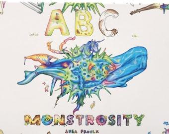 ABC Monstrosity - hardcover