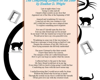 The Comforting Scratch on the Door - Printable Digital Download