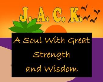 Special Nameplate - Jack - Printable Downloadable Design