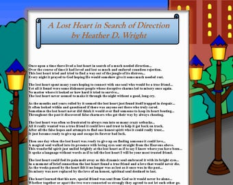 A Lost Heart in Search of Direction - Printable Digital Download