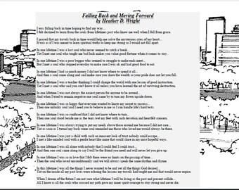 Falling Back and Moving Forward - Printable Digital Download