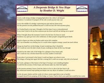 A Desperate Bridge & New Hope - Printable Digital Download
