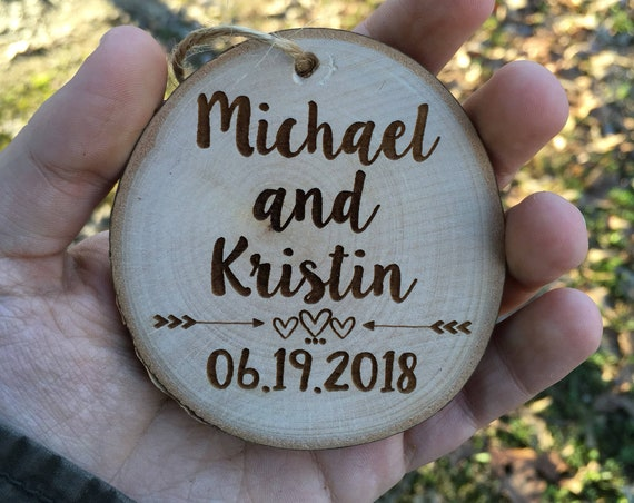 She said yes christmas ornament - Our First Engaged Christmas Ornament - Personalized Christmas Ornament - Engagement Christmas Ornament