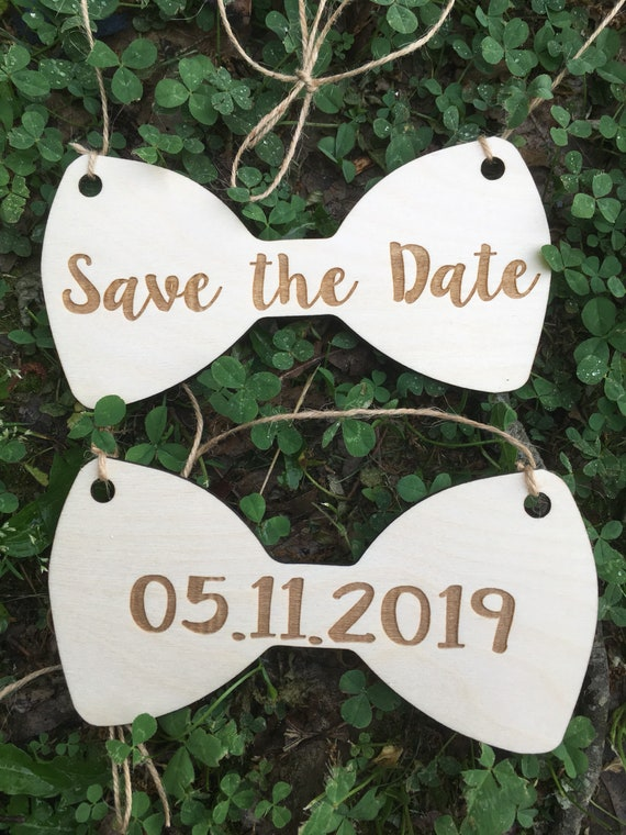LASER ENGRAVED our humans are getting married dog puppy sign - Dog Photo Prop Sign Engagement Photo Prop - save the date bow dog signs cute