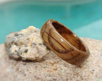 Whiskey Barrel Ring - Tennessee Whiskey Barrel Ring - Jack Daniels Ring - Whiskey Barrel Wood Ring - Wood Wedding Ring - Bourbon Barrel Ring