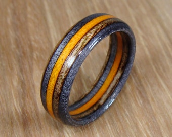 Wood ring | Etsy