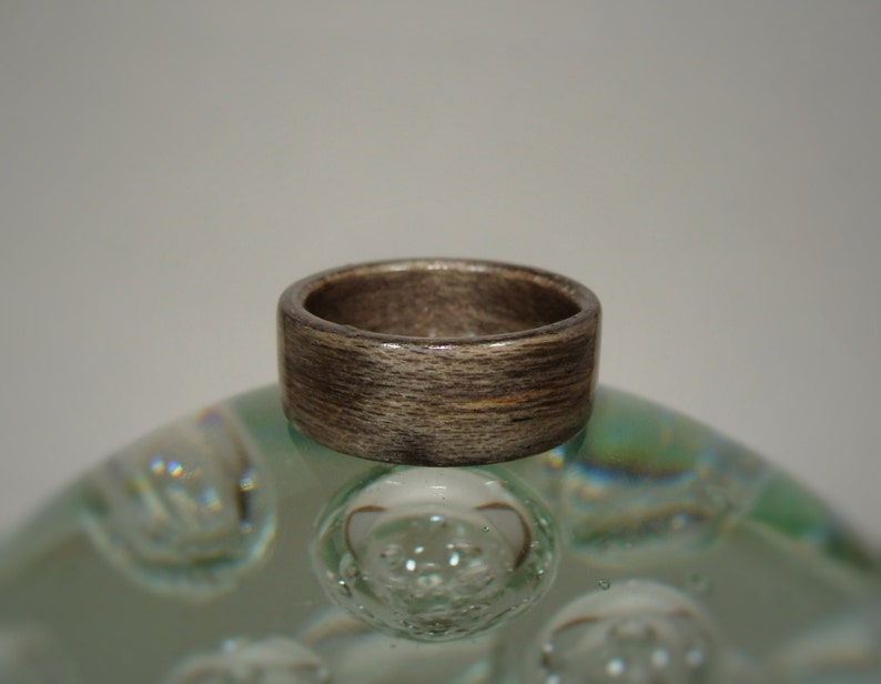Dyed Bentwood Ring Gray Bentwood Ring Gray Dyed Birch Bentwood Ring Gray Wood Ring Birch Wood Ring Dyed Wood Ring