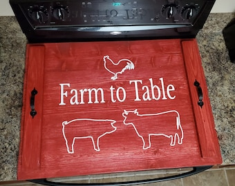 Stove Top Cover Farm to Table
