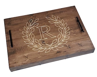 Raised Cooktop Stove Cover with Personalized Carved Design