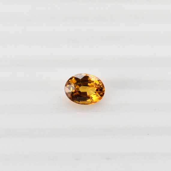 YELLOW SAPPHIRE 3.5 MM ROUND CUT ALL NATURAL AAA