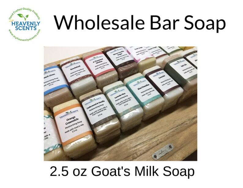 24 Bars  Wholesale Soap Lot  Goat's Milk  Resale image 0