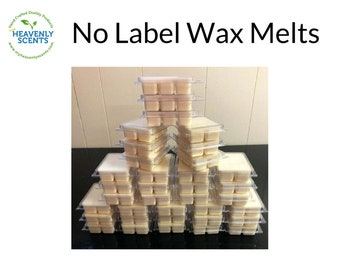 Wholesale Wax Melts | No Labels | Choose QTY | Soy Wax Melts | Vegan | Bulk Candles | Fall