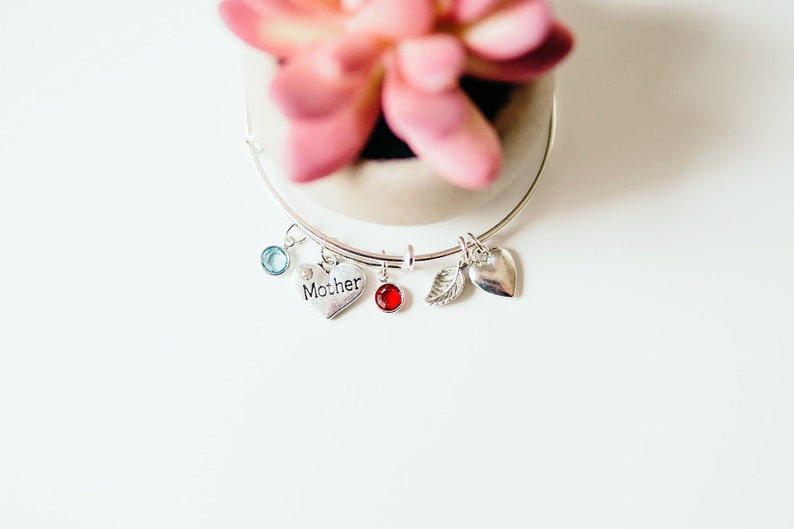 mothers day from daughter mother gift mom Mom birthstone Bracelet mothers day birthstone jewelry bracelet mothers day jewelry gift