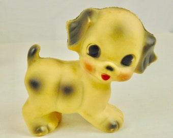 Vintage Ruth Newton Sun Rubber Company Puppy Dog Squeaky Childs Baby Toy 1976 Childs Infant Classroom Decor