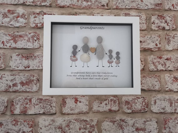 Grandparents Heart The Grandparent Gift Frame Wall Decor