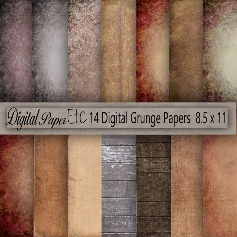 photo relating to Printable Textures named Printable Grungy Textures, Grunge Printable Historical past, Grungy Sbook Paper, Grungy Electronic Paper, Instantaneous Down load, Business P 89Sb