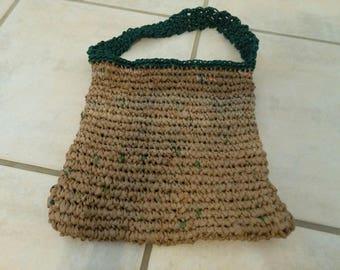 Medium Plarn Messenger Bag