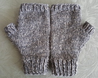 Men's Fingerless Mitts