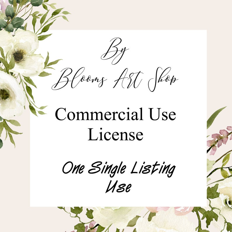 Commercial Use License: For one single listing use   image 0