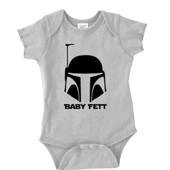 San Francisco letzte Auswahl heiß-verkaufendes echtes Baby-Fett, Boba Fett, Star Wars-Strampler, Baby Strampler, Star Wars Baby,  Star Wars-Baby-Kleidung, beliebte Strampler, Babybody, S00066