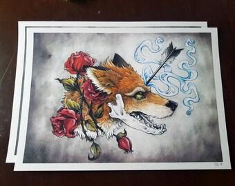 Anxiety Fox *PRINT*