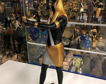 Unique Large Egyptian  God Thoth  Statue 12''  H Made in Egypt