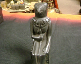 Egyptian God Horus the god of protection Hand Carved Made In Egypt
