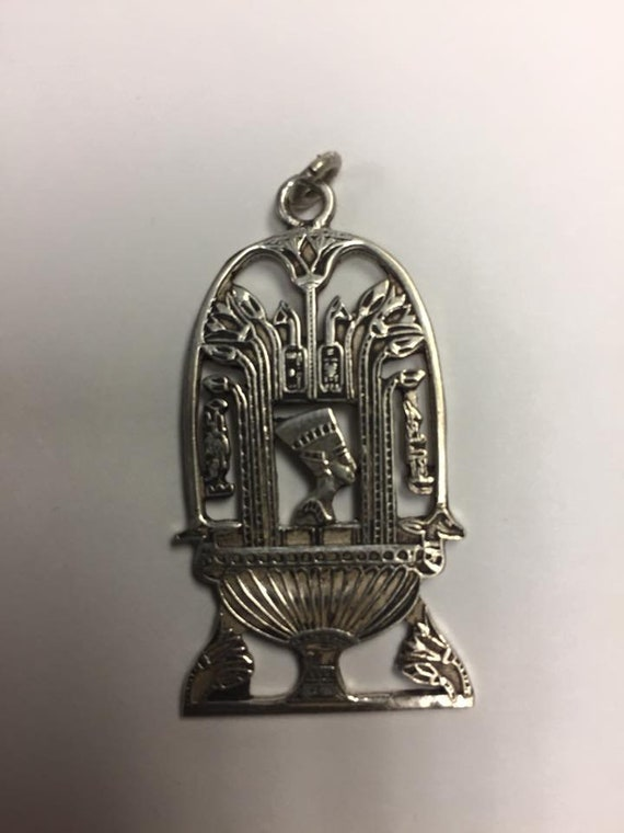 Vintage  Egyptian Solid  Silver Made in Egypt