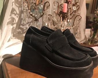 fa78fc60c98f Unique 90 s Platform Steve Madden Shoes Size 8 Grunge  Goth