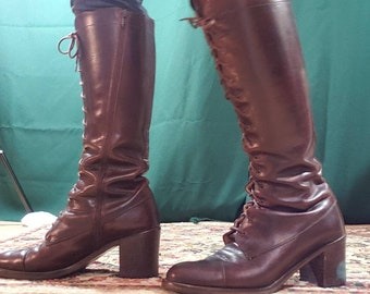 73cf36d25a0f1 Medieval high boots | Etsy