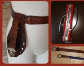 Camping Knife and 2 belts with pocket